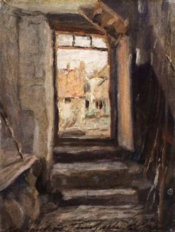 Room with a View | Valentin Serov | Oil Painting