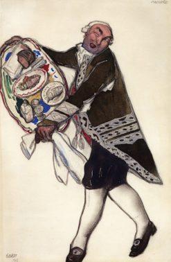 Costume Design for 'Les Femmes de bonne Humeur': Niccolo | Léon Bakst | Oil Painting