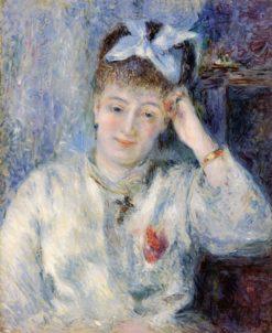 Portrait of Mademoiselle Marie Murer | Pierre Auguste Renoir | Oil Painting