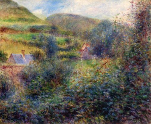 Environs of Bereval   Pierre Auguste Renoir   Oil Painting