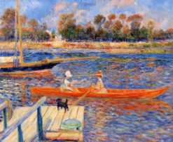 The Seine at Argenteuil | Pierre Auguste Renoir | Oil Painting