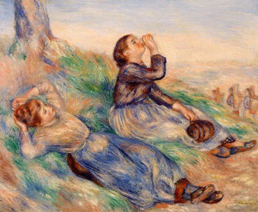 Grape Gatherers | Pierre Auguste Renoir | Oil Painting