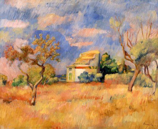 Dovecote at Bellevue | Pierre Auguste Renoir | Oil Painting