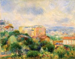 View from Montmartre | Pierre Auguste Renoir | Oil Painting