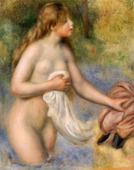 Bather | Pierre Auguste Renoir | Oil Painting