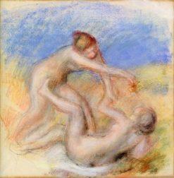 Two Nudes | Pierre Auguste Renoir | Oil Painting