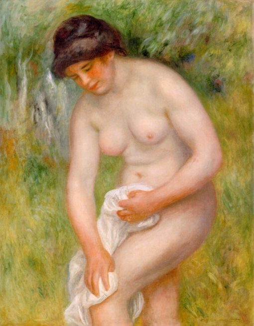 Bather Drying Herself | Pierre Auguste Renoir | Oil Painting