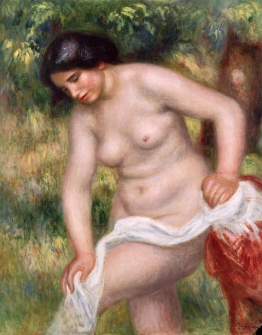 Bather Drying Herself | Pierre Auguste Renoir | Oil Painting