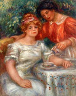 Tea Time | Pierre Auguste Renoir | Oil Painting