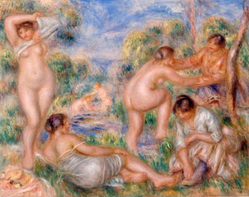 Bathing Group | Pierre Auguste Renoir | Oil Painting