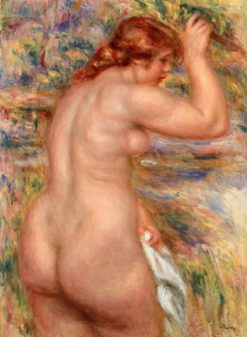 Nude in a Landscape | Pierre Auguste Renoir | Oil Painting