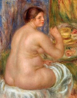 Nude from the Back | Pierre Auguste Renoir | Oil Painting