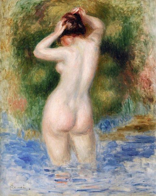 Bather | Pierre Auguste Renoir | Oil Painting