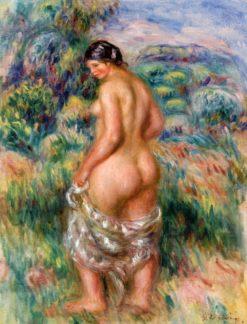 Standing Bather | Pierre Auguste Renoir | Oil Painting