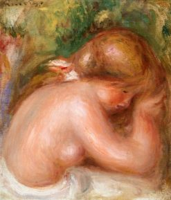 Nude Torso of Young Girl | Pierre Auguste Renoir | Oil Painting