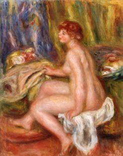 Seated Female Nude | Pierre Auguste Renoir | Oil Painting