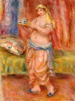 Odalisque with Tea Set | Pierre Auguste Renoir | Oil Painting