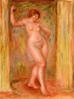 Nude with Castanets | Pierre Auguste Renoir | Oil Painting