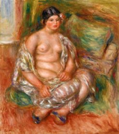 Seated Odalisque | Pierre Auguste Renoir | Oil Painting