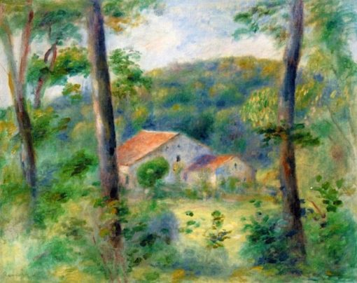 Environs of Briey | Pierre Auguste Renoir | Oil Painting