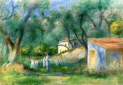 Le Cannet | Pierre Auguste Renoir | Oil Painting