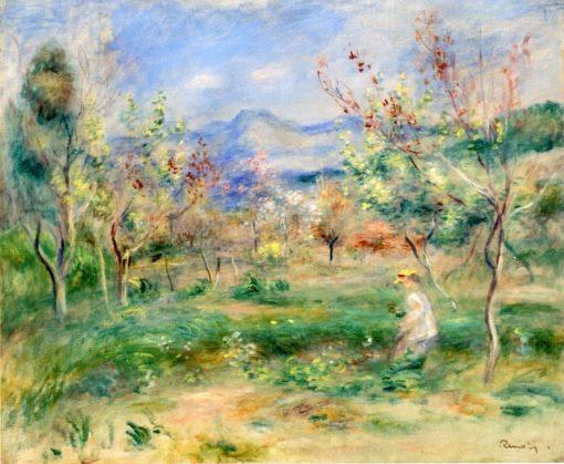 Landscape | Pierre Auguste Renoir | Oil Painting