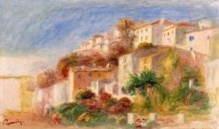 View from he Garden of the Post Office | Pierre Auguste Renoir | Oil Painting