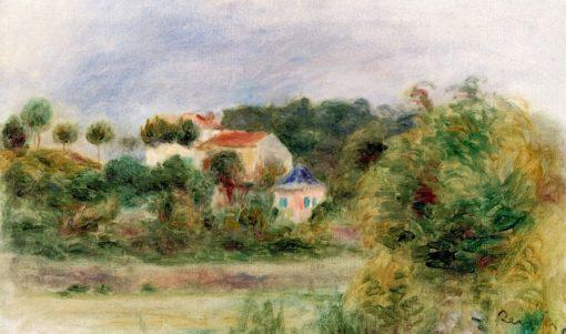 Houses in a Park | Pierre Auguste Renoir | Oil Painting