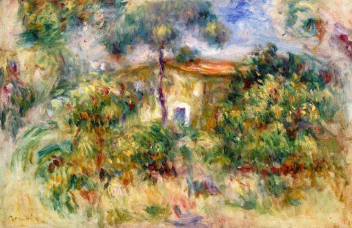 Farmhouse | Pierre Auguste Renoir | Oil Painting