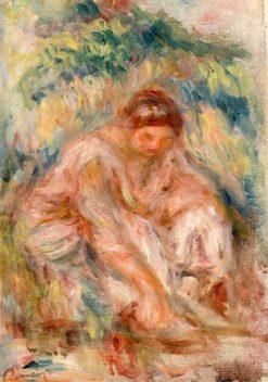 Sketch of a Woman | Pierre Auguste Renoir | Oil Painting