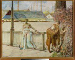 My Life | Jacek Malczewski | Oil Painting