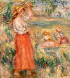 Women in the Fields | Pierre Auguste Renoir | Oil Painting