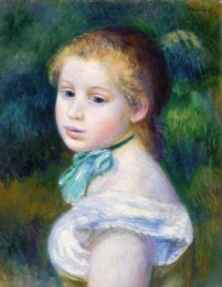 Head of a Young Girl | Pierre Auguste Renoir | Oil Painting