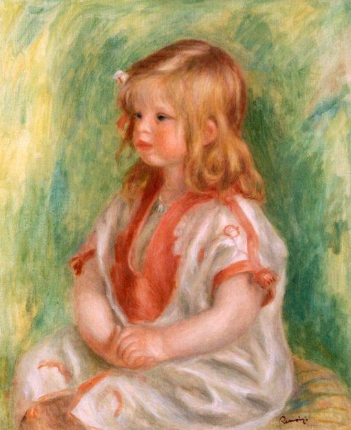 Claude Renoir   Pierre Auguste Renoir   Oil Painting
