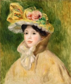 Woman with Capeline | Pierre Auguste Renoir | Oil Painting
