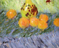 Still Life with Oranges   Alexei von Jawlensky   Oil Painting