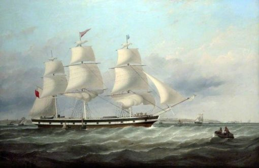 The 'Elizabeth Bibby' | Samuel Walters | Oil Painting