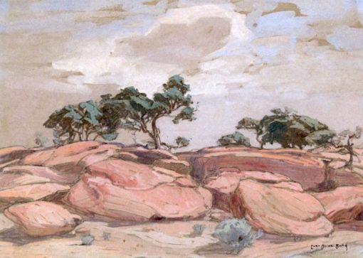 Arizona Landscape | Carl Oscar Borg | Oil Painting