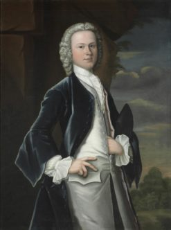 Portrait of Edward Shippen IV (1729-1806) | Robert Feke |