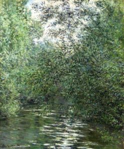 Willows on River | Claude Monet |