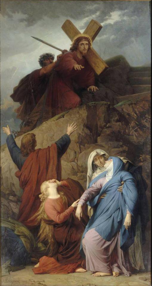 la Vierge au calvaire