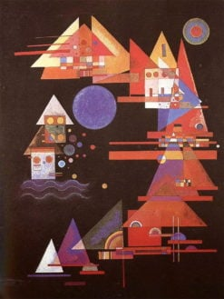 Spitzen im Bogen | Wasily Kandinsky |