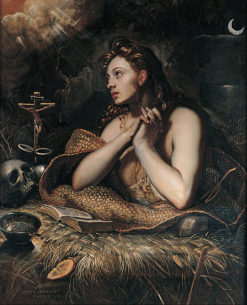 Penitent Magdalene   Domenico Tintoretto  