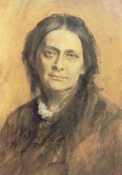 Clara Schumann 1878 | Franz von Lenbach |