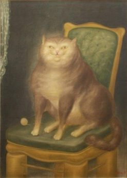 The Cat   Fernando Botero  
