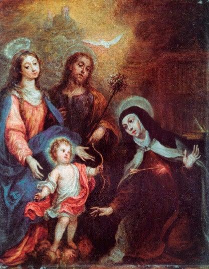 Transverberation of Teresa of avilia | Francisco Rizi |